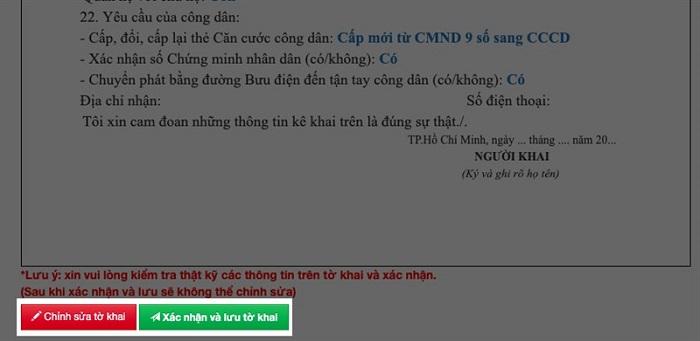 làm cccd bước 5