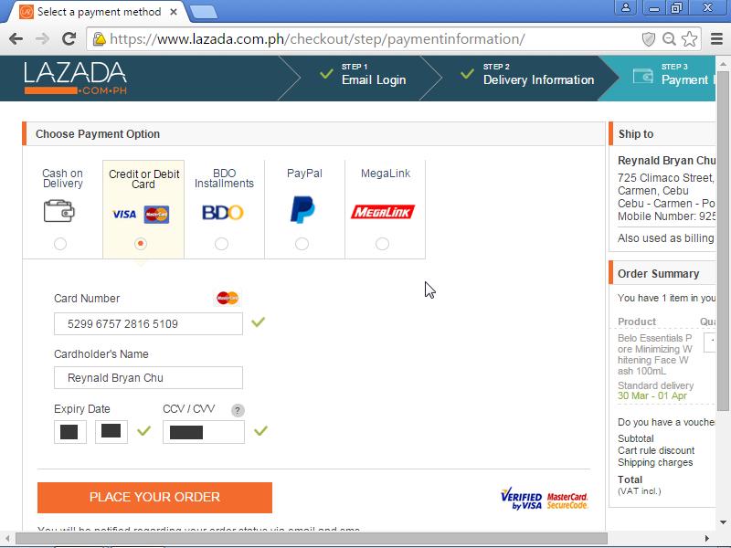 Sử dụng thẻ tín dụng để thanh toán hóa đơn