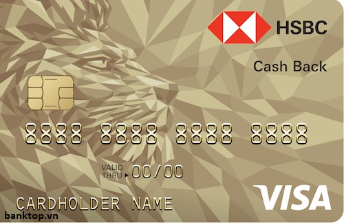 Thẻ tín dụng HSBC Cashback