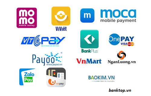 Các loại ví điện tử phổ biến