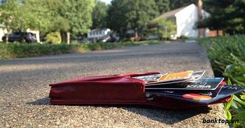 bị mất thẻ ATM