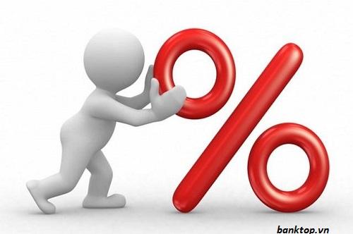 Phần trăm lãi suất gửi tiết kiệm
