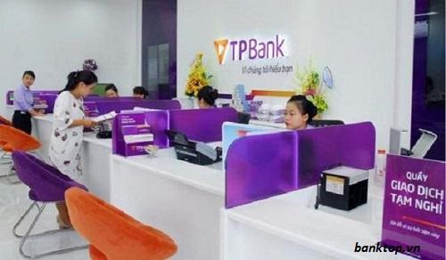 Thủ tục vay tiền ngân hàng TPBank đơn giản
