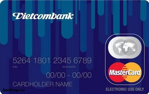 Thẻ Mastercard Vietcombank hạn mức cao