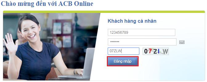 Chuyển tiền ACB Online