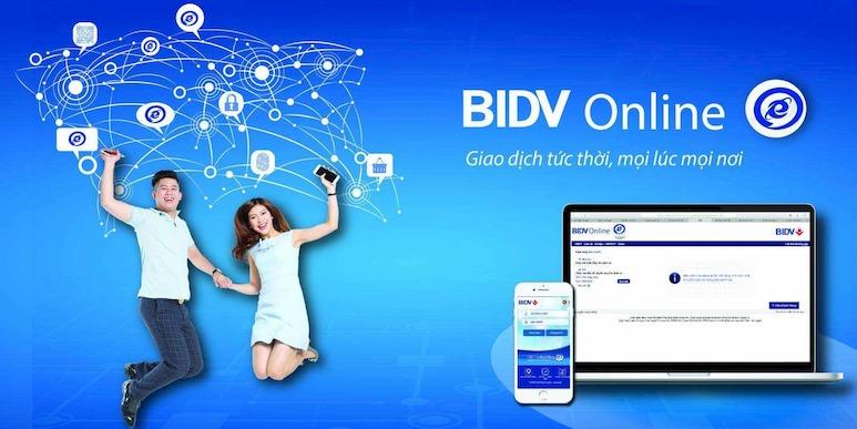Khách hàng có thể sử dụng dịch vụ BIDV Online mà không cần thẻ ATM