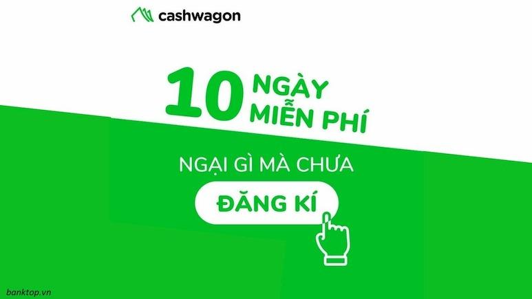Cashwagon hỗ trợ vay tiền lãi 0% cho lần vay đầu tiên