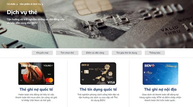 Đăng ký mở thẻ online