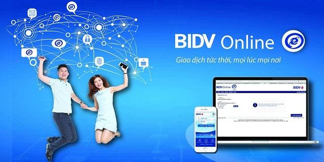Dịch vụ BIDV Online cho phép khách hàng hiện quản lý, chuyển khoản thông qua ứng dụng di động