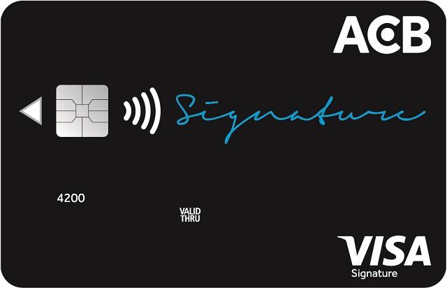 Thẻ tín dụng ACB công cụ hỗ trợ tuyệt vời