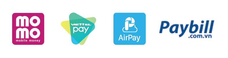 Thanh toán thẻ vay Vietcredit qua ví điện tử