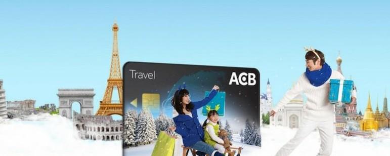 Sử dụng thẻ Visa ACB có nhiều ưu đãi
