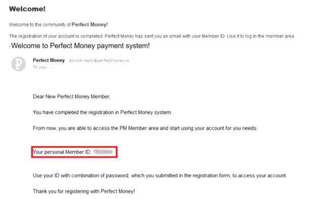 Xác nhận đăng ký tài khoản PM