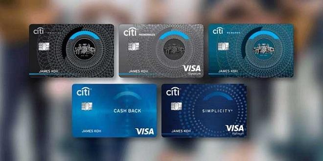 Thẻ tín dụng là sản phẩm thế mạnh của Citibank