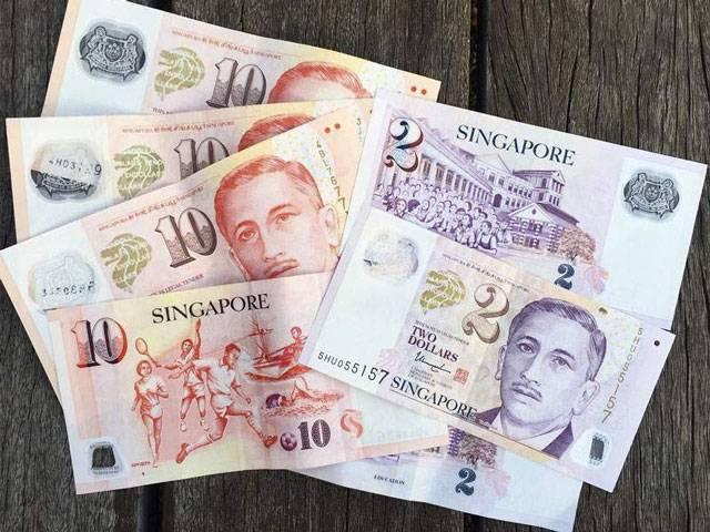 Các tờ tiền đô la Singapore.