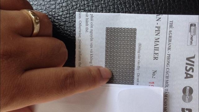 Mã PIN ATM mới cấp nằm ở đâu?