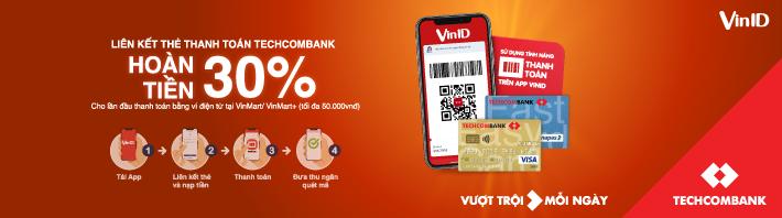 Techcombank JCB - Dream Card có hạn mức 10-50 triệu đồng