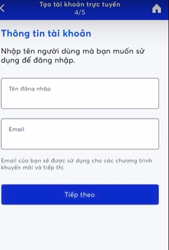 Đăng ký MB app