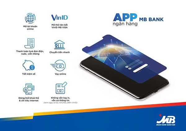 Dịch vụ internet banking mbbank