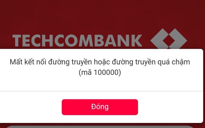 i Service Temporarily Unavailable khi sử dụng Internet Banking
