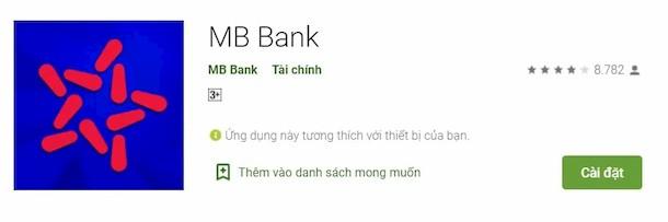 Tải MB App để lấy số tài khoản đẹp ngay