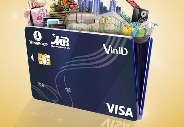 Thẻ liên kết VINID MB VISA