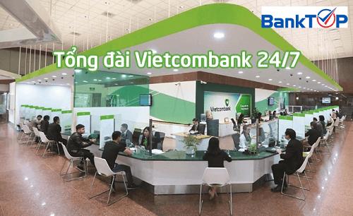 Tổng đài Vietcombank