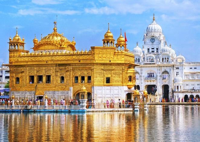 Hình ảnh đền vàng tại Ấn Độ