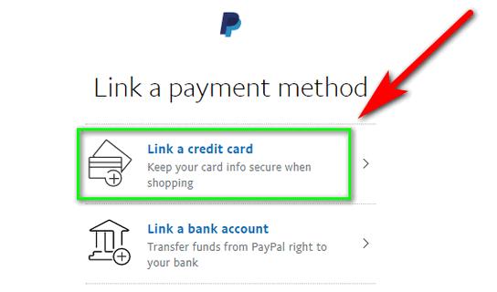 add thẻ vào paypal