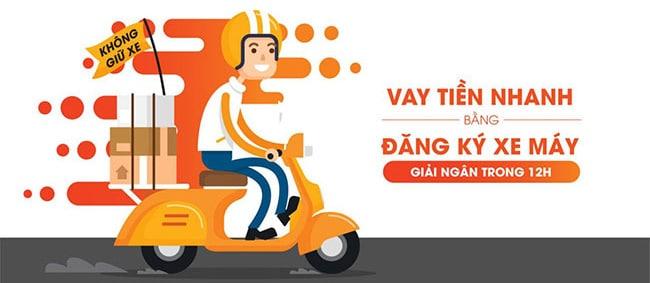 Tima hỗ trợ cầm cavet xe máy online hạn mức cao