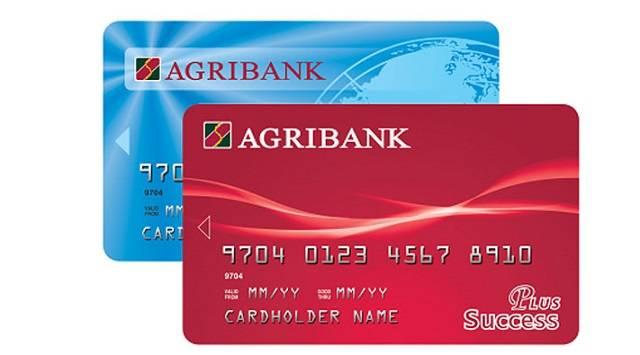 Thẻ ATM của ngân hàng Agribank.