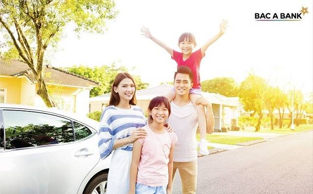 Lãi suất vay mua xe ô tô ngân hàng Bắc Á