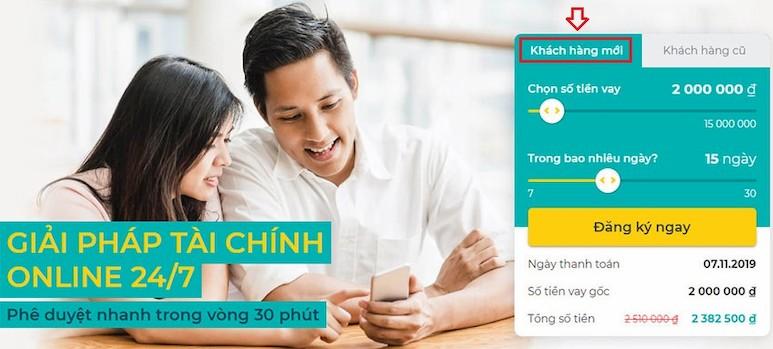 10+ Website vay tiền online nhanh cấp tốc 24/24 uy tín chỉ CMND! 16