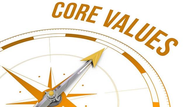 Giá trị cốt lõi có vai trò quan trọng trong sự thành công của Doanh nghiệp