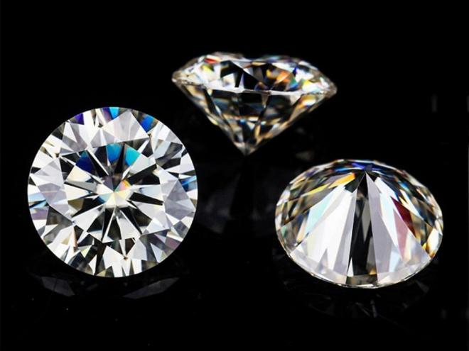 Kim cương nhân tạo có kỹ thuật cắt vô cùng hoàn hảo