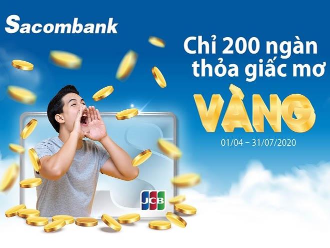 Đăng ký thẻ JCB Sacombank