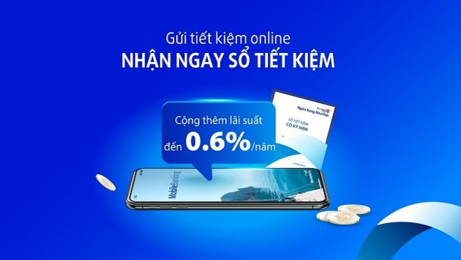 Lãi suất ngân hàng Bản Việt khi gửi tiết kiệm Online