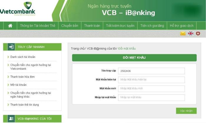 Internet Banking Vietcombank là dịch vụ ngân hàng trực tuyến đang được nhiều khách hàng ưa chuộng