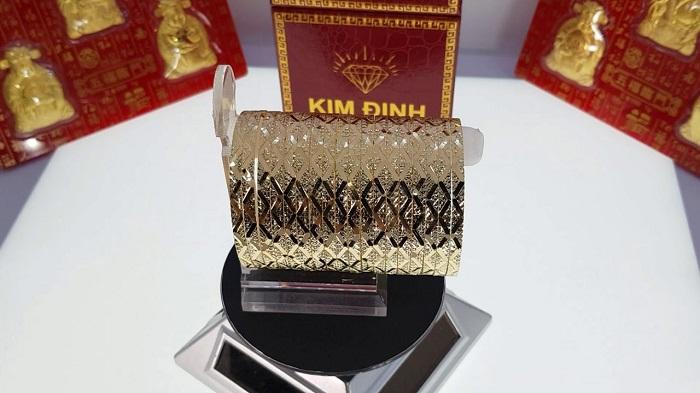 Kim Định là cửa hàng vàng bạc uy tín tại Kiên Giang
