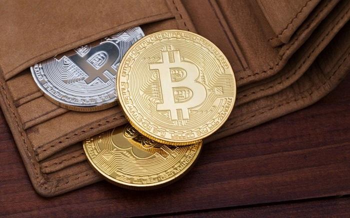 Bitcoin được lưu trữ trên ví